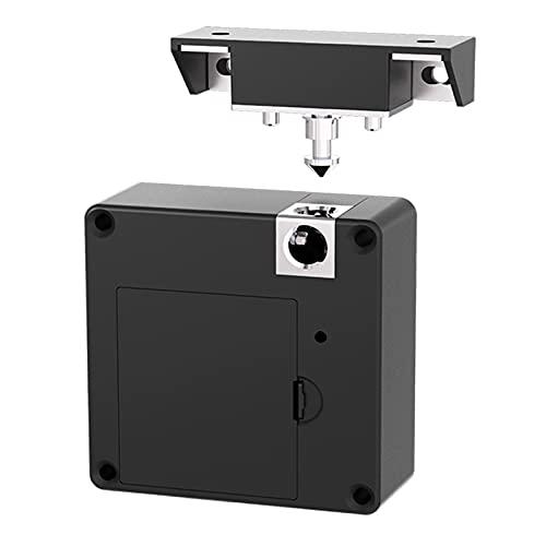 harayaa Cerradura electrónica para armario sin llave, DIY oculto con tarjeta RFID, cerradura de privacidad NFC para armario de madera, armario, despensa