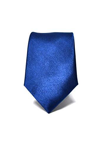 Oxford Collection Cravatta da uomo Blu Scuro Slim - 100% Seta - Sottile, Elegante e Moderna - (ideale per un regalo, un matrimonio, con un abito, in ufficio.)