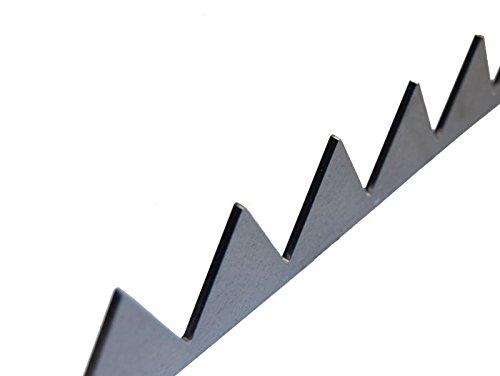 1m anschweißbare Zackenleiste Übersteigschutz Zacken für Toranlage