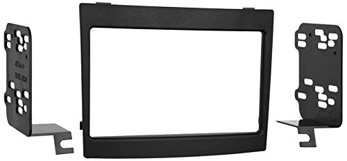 Metra 95-3528B 2004-06 Pontiac GTO Double-DIN Radio Dash Kit (Black)
