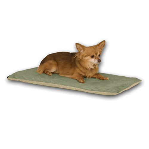 K&H Pet Products Thermo-Pet Mat Reversible Heated Pet Bed Sage 14 X 28...