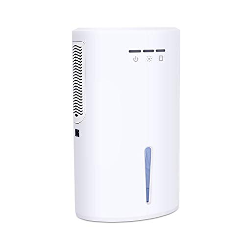 Lowest Prices! YONGMEI Portable Dehumidifier 2000ml, Small Electric Air Dehumidifier Ultra Quiet Ene...