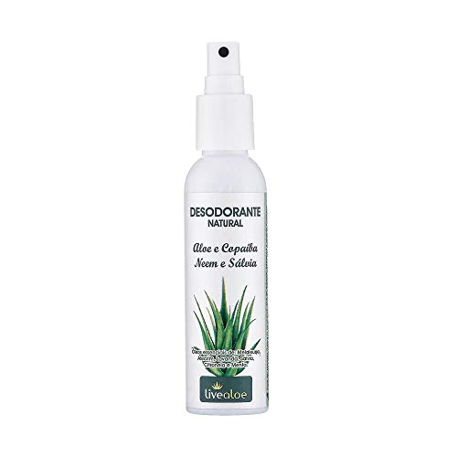 Desodorante Natural Aloe Copaíba, LiveAloe