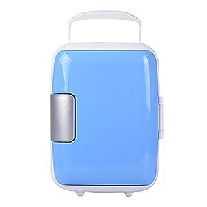 YY Mini voiture Réfrigérateur 4L Food Boissons Réchauffeur Réchauffeur Frigo F/Voyage (Color Name : Blue)