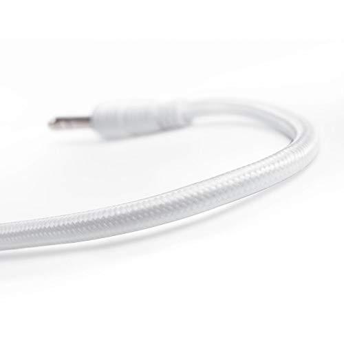 Teufel x Rosenthal 6,0 m Lautsprecherkabel Weiß