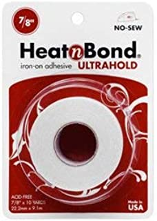"Thermoweb Heat'n Bond Ultra Hold Iron-On Adhesive-7/8""X10 Yards (2 pack)"