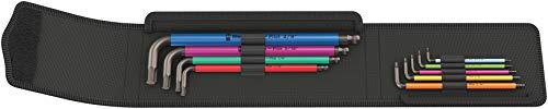 Wera(ヴェラ) 950SPKL/9SZ ボールポイントヘックスキーセット インチ 022639