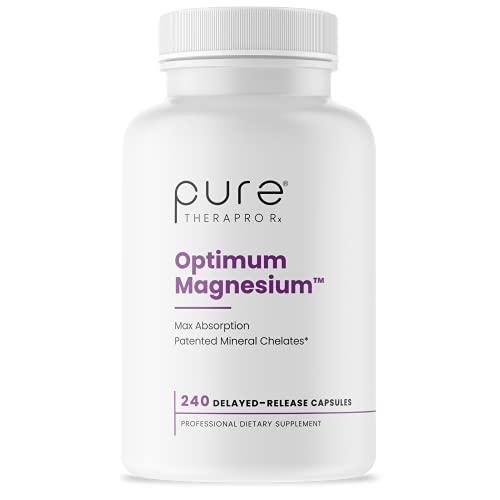 Optimum Magnesium - 240 'Delayed Release' Vcaps | 250mg Elemental...