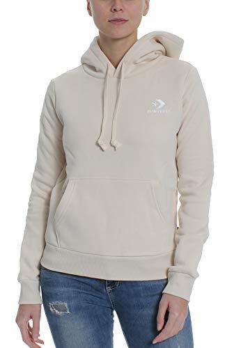 Converse Sweater Damen Star Chevron PO Hoodie 10008819 Beige 101, Größe:M