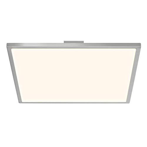 BRILLIANT LED Deckenleuchte Ceres Easydim Eisen/weiß mit Leuchtmittel 1-flammig 2000 lm 3000 K warmweiß 350x350 mm
