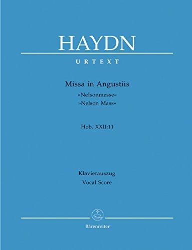 Joseph Haydn: Missa in angustiis (Nelsonmesse) Hob.XXII:11 voor Soli, Chor en Orkester -- piano uittreksel met potlood volgens de oorspronkelijke tekst van de Haydn totale uitgave (noten/sheet music)