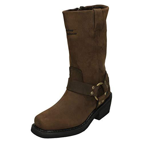 HARLEY-DAVIDSON ,  Damen Biker Boots, Braun - braun - Größe: 37EU