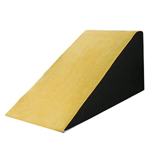 Yellow Sponge Dog Safety Ramps, Sturdy Pets Free-standing Ramp - Easy to Clean, Great for Living Room and Bedroom (Size : H-50 cm/19.7'')