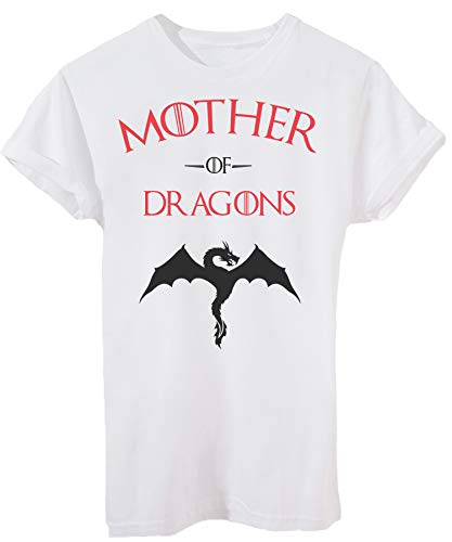 iMage T-Shirt Mother of Dragons Game of Thrones - Film - Donna-M-Bianca