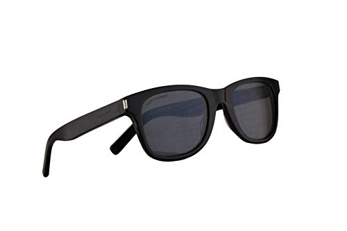 Saint Laurent SL51 Sonnenbrille Schwarz Mit Grauen Gläsern 50mm 002 SL 51