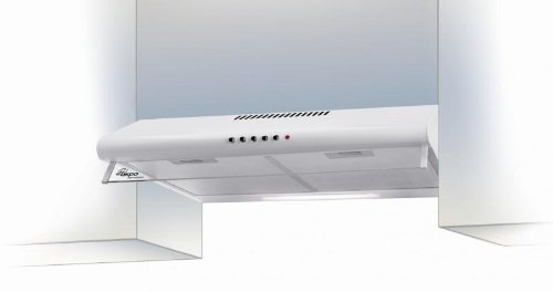 AKPO WK-7 P 3060 Dunstabzugshaube/Unterbauhaube/Halogen-Beleuchtung/weiß / 60 cm