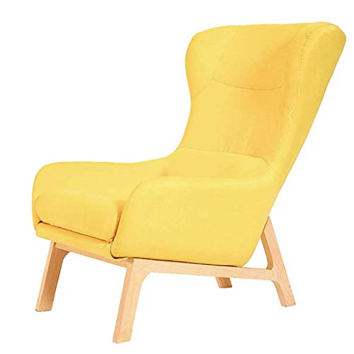Modern Sofa Balcony Lounge Leisure Chair Couch Chair Lazy Sofa Gaming Chair for Home Office Recliner Couch Kids Armchair Sleeper Leisure Recliner with Removable Seat Cover for Living Room