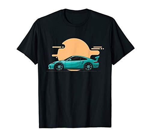 Herren 911 Sportwagen Design | 911 Oldschool | Tuning Fan Geschenk T-Shirt