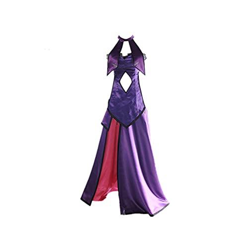 Oppinty Disfraz de Cosplay Halloween Masquerade Fate / Grand Order Jeanne d'Arc Vestido sin espalda de anime Vestido de noche magnífico para exhibición de anime de alta calidad