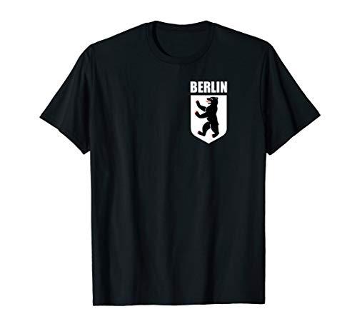 Coat Of Arms Of Berlin Germany Souvenir Retro Berliner Bear T-Shirt