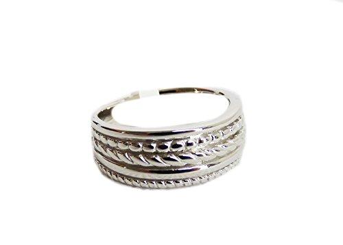 TCM Tchibo 925er Sterling Silber rhodiniert Damen Ring Größe 18