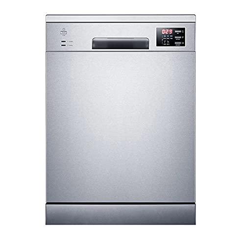 XWSM Lavavajillas de sobremesa, lavavajillas Compacto, Mini lavavajillas con 5 programas de Lavado, Control táctil, con Cesta, Alta Temperatura, Secado al Aire, Adaptador de Grifo Incluido