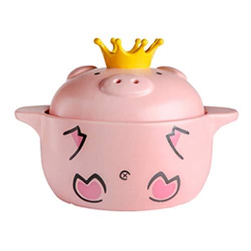 Best Review Of Hot Pots Pot Cute Pig Casserole Stew Pot Soup Pot Home Gas Ceramic Stew Pot Pot Casse...