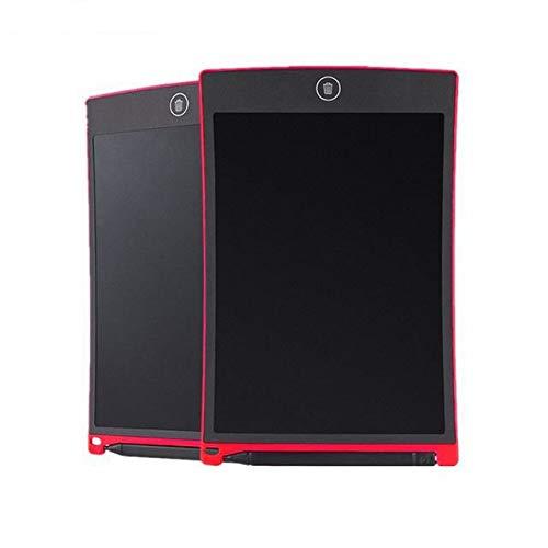 BXGZXYQ Tablet 8,5-Zoll-LCD-Flüssigkristall-Licht intelligentes elektronische Tafel Kind Malerei Graffitis frühe Kindheit Tablet Grafiktablett Zeichnen mit Licht Spielzeug (Farbe : ROT)