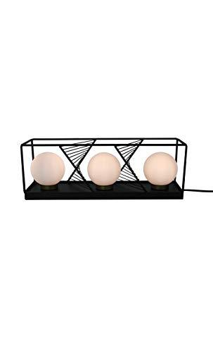 Socadis - Lampe métal à poser triple sphère INTERIOR