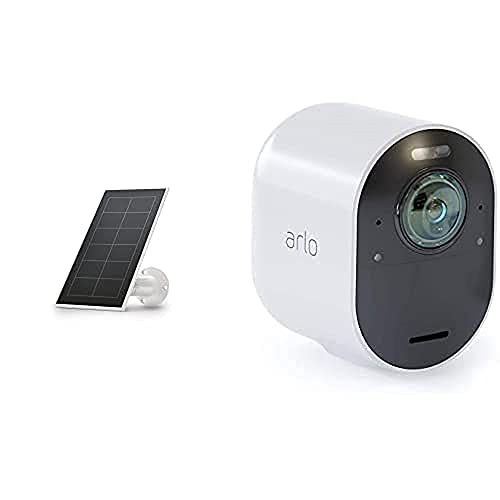 Arlo Ultra 4K HDR | Caméra Additionnelle avec éclairage Intégré, Jour/Nuit &...