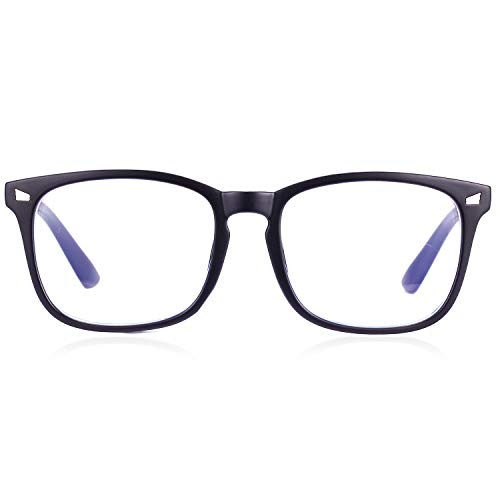 Paquete de 2 gafas de bloqueo de luz azul, antirayos azules para...