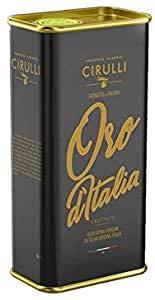 Frantoio Oleario Cirulli Olio Extravergine di Oliva Italiano Estratto a Freddo, EVO Lattina (5 Litri)