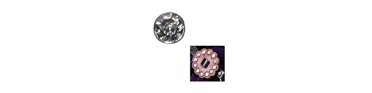 Tandy Leather Synthetic Crystal Rivets 10 mm 10/pk 1366-04