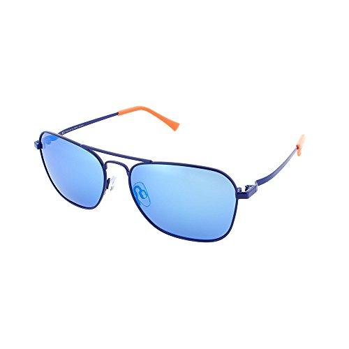 H.I.S Polarized zonnebril metaal HP64100, blauw, ijsblauwe glazen, 1 stuk