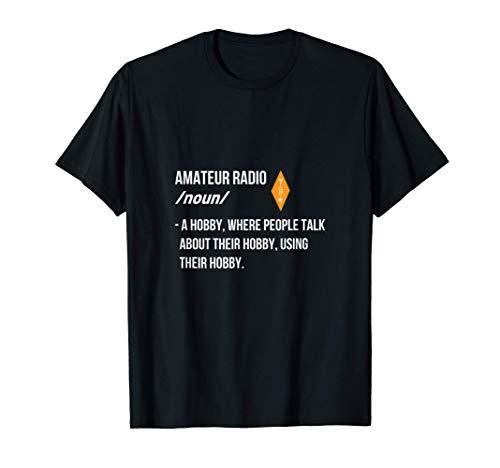 Amateur Radio ricetrasmettitore e Operatore Maglietta