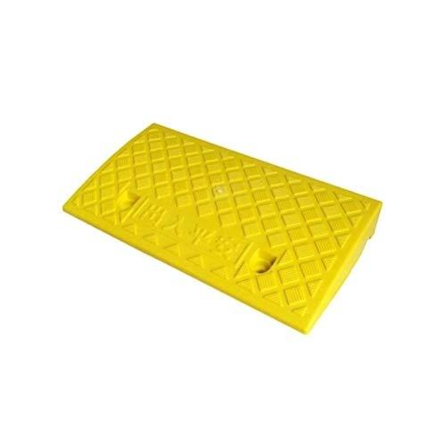 7cm / 13cm Pendiente Mat, Bordillo de plástico triángulo del cojín, ruedas de coches Caravana moto scooter Motocicleta minusválidos Rampa móvil (tamaño: 50 * 27 * 13 cm)