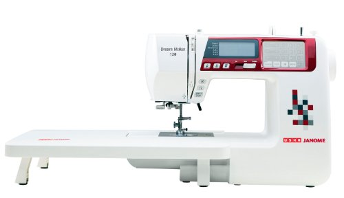 Usha Janome Dream Maker 120 35-Watt Computerized Sewing...
