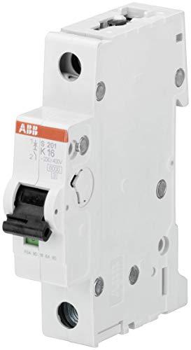 ABB S201-K16–Stromkreisunterbrecher (230/400, 50/60 Hz, -25-55 °C, -40-70 °C)