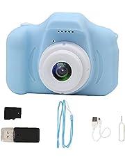 Kids Camera Speelgoed Digitale Video Recorder 1080 P 32G Sd Kaartlezer Blauw fit voor Kinderen Peuter Jongen Meisje Gift