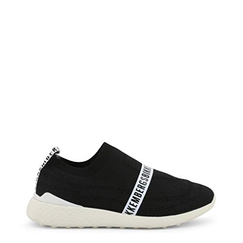 Bikkembergs Strik-Er Men Black Sneakers