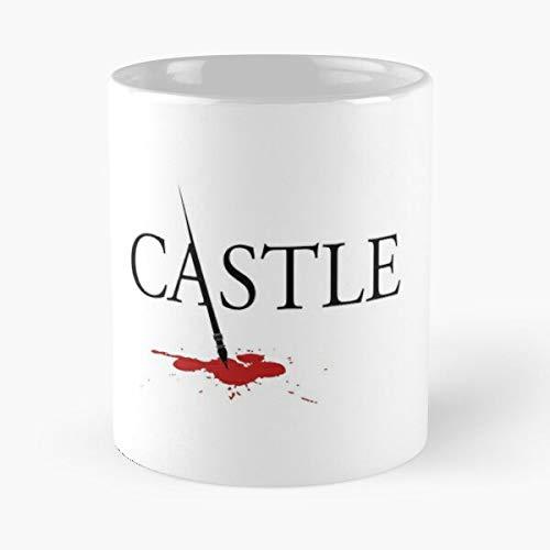 Richard Beckett Castle Best 11 oz Kaffeebecher - Nespresso Tassen Kaffee Motive