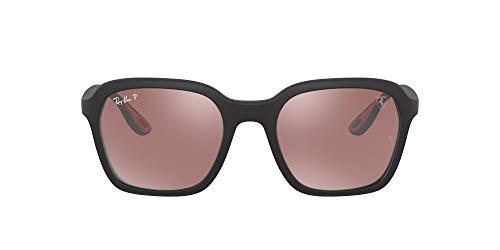 Ray-Ban 0RB4343M Gafas, MATTE BLACK, 52 Unisex