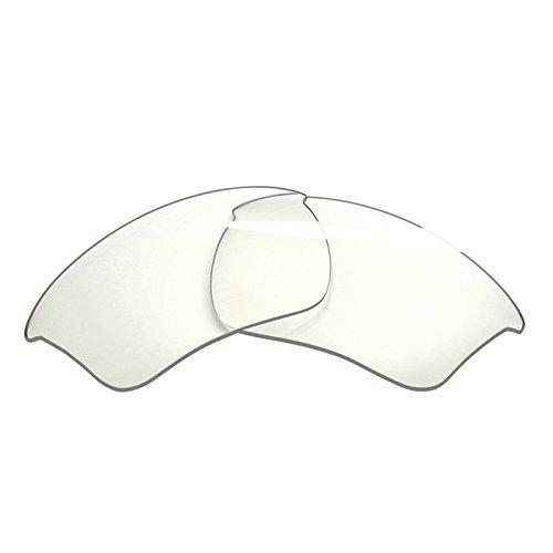 BlazerBuck Lentes de repuesto polarizadas antisal para Oakley Half Jacket 2.0 XL OO9154, HD transparente., Talla única