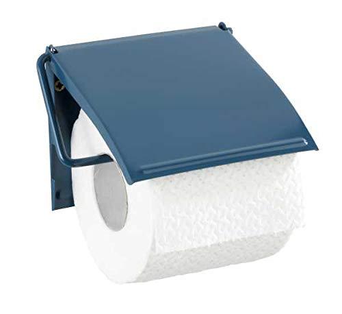 WENKO Toilettenpapierhalter Cover Slateblue