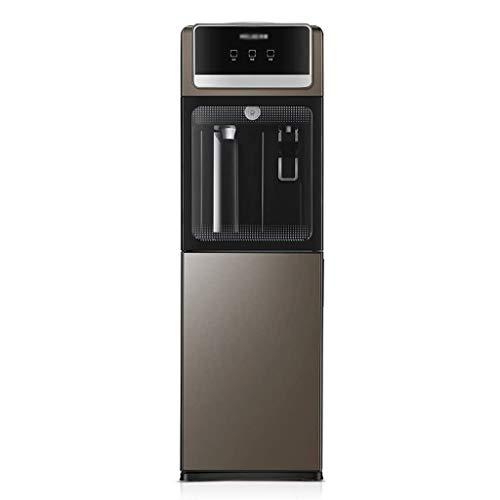 XFENG Quiet Automatik 5 Gallonen-Wasser-Zufuhr warmes und kaltes Top Reservoir, Energiesparen sofort heißes Wasser Spender und Wasserkühler-Zufuhr, Ausgeglichenes Glastür und Kindersicherheitsschloss