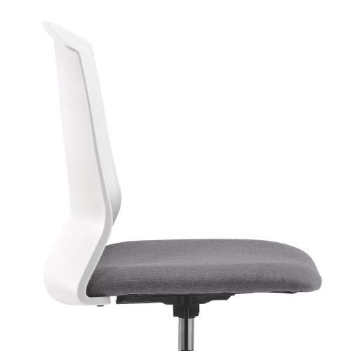 Kunyun Bürostuhl Ergonomischer Computer-Task-Schreibtischstuhl ohne Arme Stoff Schwenkstuhl Home Büroschlafzimmer`