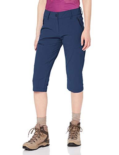 Schöffel Pants Caracas2, leichte und kühlende Wanderhose aus elastischem Stoff, vielseitige Outdoor Hose mit optimaler Passform und praktischen Taschen Damen, dress blue, 44