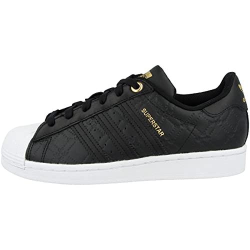 adidas Low Superstar - Zapatillas deportivas para mujer, color Negro, talla 42 EU