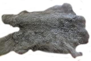 Natural Top Grade Rabbit Fur Long Pelt Skin Taxidermy