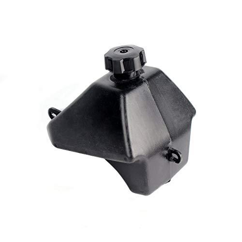 Hochleistungs-ATVs Gas Benzin-Kraftstofftank + Tankdeckel 50cc 90cc 110cc Für chinesisches ATV für Quad 4 Wheeler für Hummer ATV Buggy (schwarz)